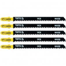 Pjūkliukai siaurapjūkliui 5vnt, 8TPI / 3mm, ilgi (medis)