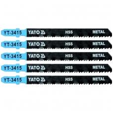 Pjūkliukai siaurapjūkliui 5vnt, 24~10TPI / 1.2 ~2.6mm (metalui, aliuminiui)