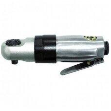 """Pneumatinė rankena galvutėms mini 1/4"""", 133 mm ilgio"""