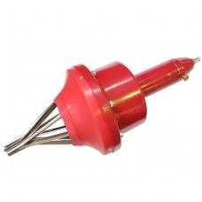 Pneumatinis įrankis pusašių gumoms uždėti 25 - 110 mm