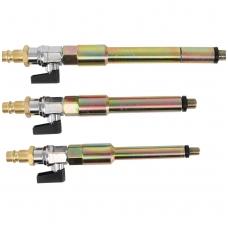 Pneumatinių adapterių rinkinys kaitinimo žvakių lizdams 3 vnt.