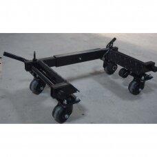 """Pozicionavimo vežimėlis 2x800kg. 14""""-23""""/ 300mm., padangoms 1600kg/2vnt."""