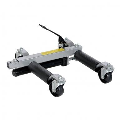 """Pozicionavimo vežimėlis hidraulinis iki 9""""/225 mm padangoms"""