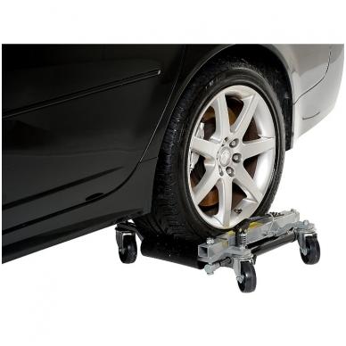 """Pozicionavimo vežimėlis hidraulinis iki 9""""/225 mm padangoms 4"""