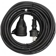 Prailginimo kabelis guminis IP44, 3x1,5mm2 10m