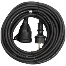 Prailginimo kabelis guminis IP44, 3x1,5mm2 30m