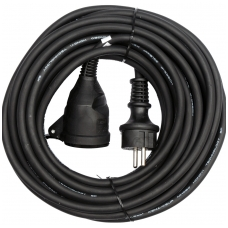 Prailginimo kabelis guminis IP44, 3x1,5mm2 40m