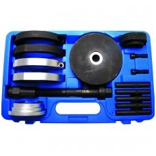 Presavimo įrankių komplektas išoriniam guoliui 85 mm VW T5 ir Touareg rato stebulei
