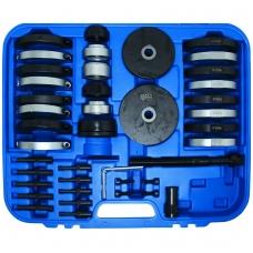 Presavimo įrankių rinkinys išoriniam guoliui VAG 62/66/72/85 mm rato stebulei