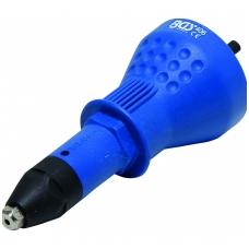 Priedas grąžtui - kniediklis 2.4-3.2-4.0-4.8 mm