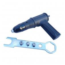 Priedas į grąžtą - kniediklis  2.4 - 3.2 - 4.0 - 4.8 mm