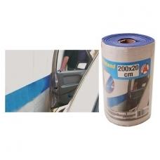 Prisiklijuojanti apsauga prie sienos automobilio durims 20x200 cm