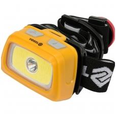 Prožektorius dedamas ant galvos XPE CREE 3W + COB LED 3W
