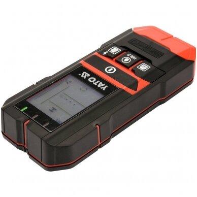 Profilių/drėgmės/įtampos aptikimo detektorius 4 viename 4