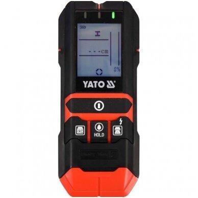 Profilių/drėgmės/įtampos aptikimo detektorius 4 viename