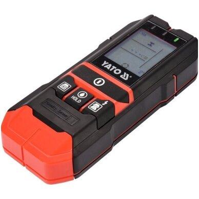 Profilių/drėgmės/įtampos aptikimo detektorius 4 viename 3