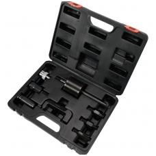 Purkštukų iškalėjų rinkinys su atbuliniu plaktuku ir adapteriais -8 vnt.