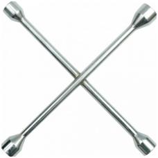 """Raktas ratams poliruotas """"kryžius"""" 17x19x22x23 mm"""