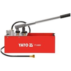 Rankinė pompa spaudmo testavimui 50 bar., 12l