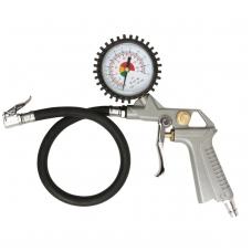 Ratų pripūtimo pistoletas su manometru