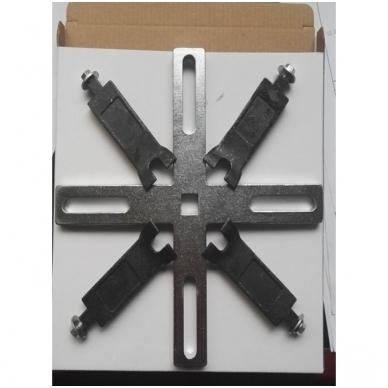 Raktas degalų bako daviklių išardymui/surinkimui 4-kojis, 90-199 mm