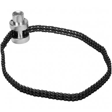 Raktas filtrui, dviguba grandinė  Ø 75 - 170mm.