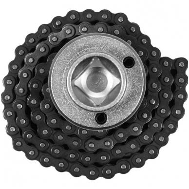 Raktas filtrui, dviguba grandinė  Ø 75 - 170mm. 2