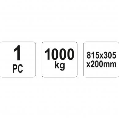 Rampa automobiliui - 1000 kg - 1 vnt. 2