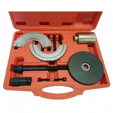 Ratų guolių presavimo įrankiai, Audi,guolio blokas Ø 90mm. 14vnt.