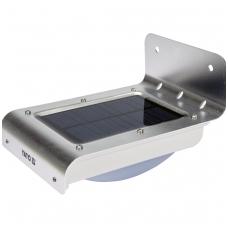 Saulės baterijos šviestuvas su judesio davikliu 16 SMD LED