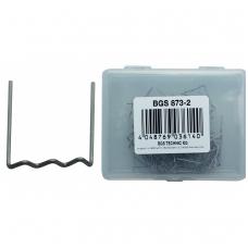 Sąvaržėlės plastiko remonto įrangai BGS 873, U formos, 0.8 mm