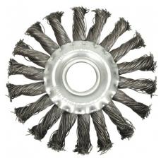 Šepetys disko tipo, stambus plienas 115 x 12 x 22.2mm