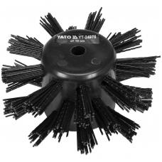Šepetys kanalizacijos vamzdžių valymui - 10 cm