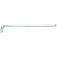 Šešiakampis raktas lenktas ilgas šarnyrinis 230 mm, 10.0 mm