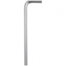 Šešiakampis raktas lenktas labai ilgas su šarnyru 2,5 mm, 12 vnt
