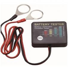 Skaitmeninis akumuliatoriaus testeris LED 12V, CE