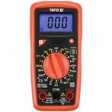 Skaitmeninis daugiafunkcinis testeris 0-600V