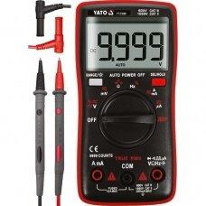 Skaitmeninis daugiafunkcinis testeris, TRUE RMS 9999 AUTO LCD