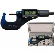 Skaitmeninis mikrometras 0 - 25 mm/0,001 mm