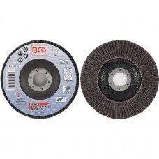 Šlifavimo diskas lapelinis Ø125mm. K40