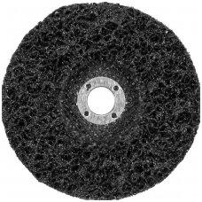 Šlifavimo diskas metalui su abrazyvine medžiaga juodas 125xM14
