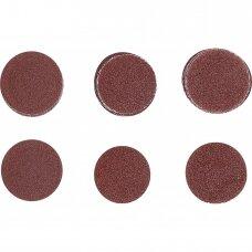 Šlifavimo padai/šlifavimo rinkinys Ø50mm. K60-80-120 30vnt.