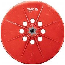 Šlifavimo padas, apvali šlifavimo galvutė,  tinka šlifuokliui YT-82350, YT-82340, 225mm.