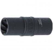 """Speciali galvutė - sraigtinis ištraukiklis, Dvipusė 12,5 mm (1/2"""") 19 mm."""