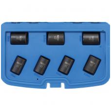 Specialus galvučių rinkinys - varžtų ištraukikliai- 12,5 mm - 17 - 26 mm- 7 vnt.