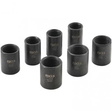 Specialus galvučių rinkinys - varžtų ištraukikliai- 12,5 mm - 17 - 26 mm- 7 vnt. 2