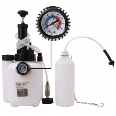 Stabdžių nuorinimo įrankiai su 3 litrų pompa