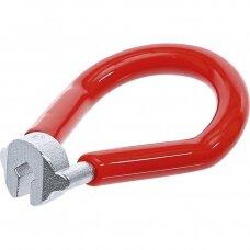 """Stipinų veržliaraktis raudonas 3.45mm. (0.136"""")"""