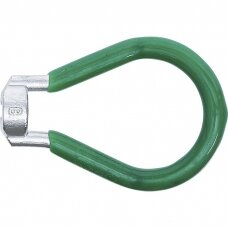 """Stipinų veržliaraktis žalias 3.3mm. (0.130"""")"""