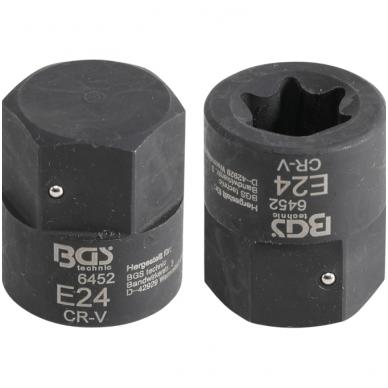 Stabdžių kaladėlių E-tipo galvutė MAN, TGA 30mm,  E24